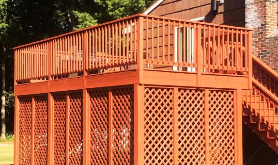 deck painting in peabody ma