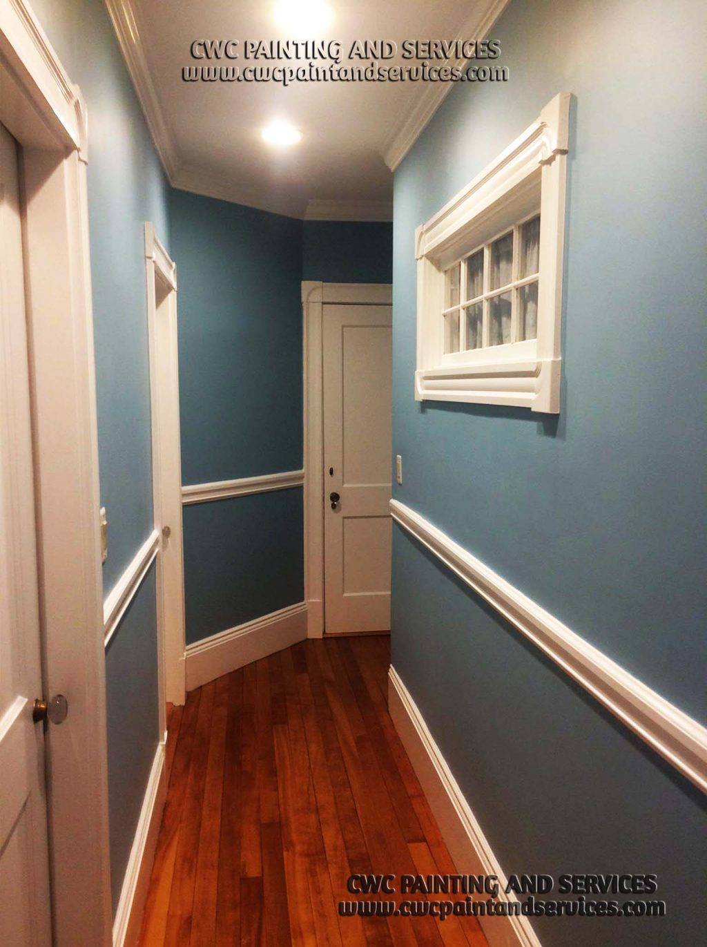 skim coat and painting after wallpaper removal swampscott ma