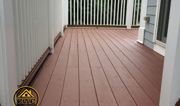 deck painting in Middleton MA